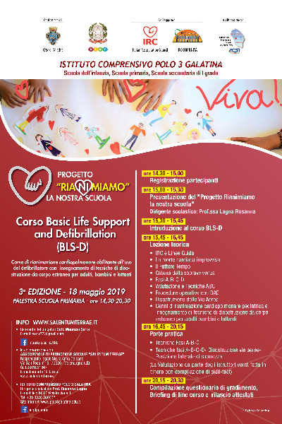 Corso Basic Life Support and Defibrillation (BLS-D)